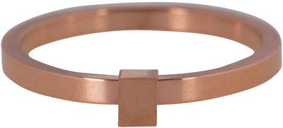 Ring R485 Rosé 'Quatre Steel' Staffelkortingen!