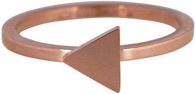 Ring R396 Rosé 'Steel Triangle'