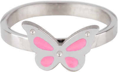 KR66 Butterfly Pink Shiny Steel