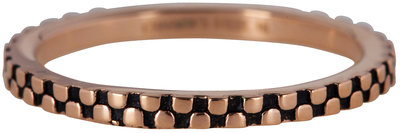 Ring R453 Rosé 'Pointy Steel'