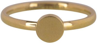 Ring R424 Gold 'Fashion Seal Medium'