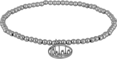 OHB08 Ohlala! Bracelet 3mm Shiny Steel