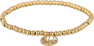 OHB12 Ohlala! Bracelet 4mm Gold